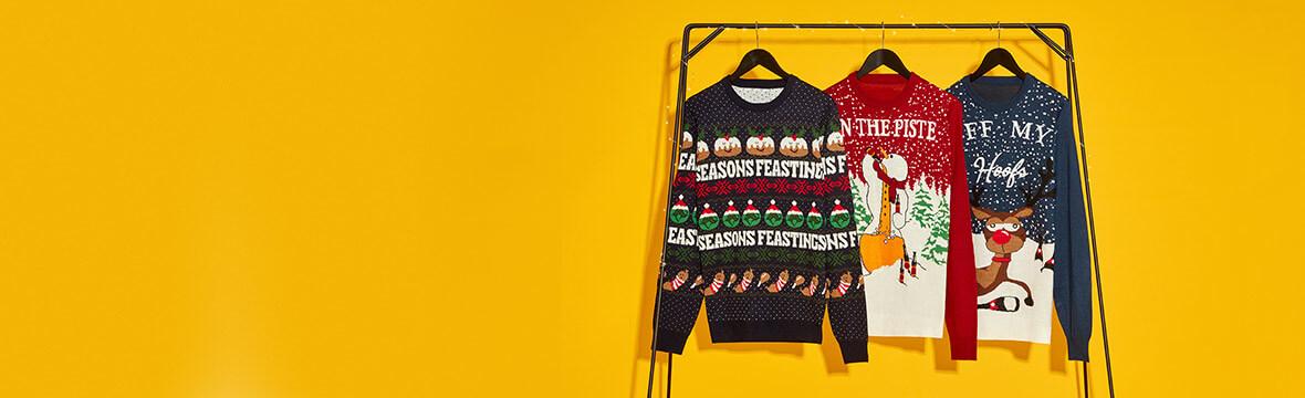 Weihnachtspullover - Sicher dir deinen für die festlichen Tage - Über 350 Designs!