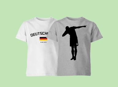 2 Fussball T-Shirts für 17,39€