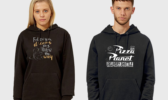 2 For £40 Officially Licensed Disney Hoodies