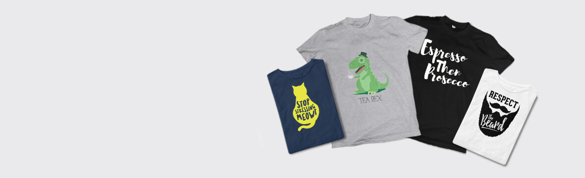 Quirky T-shirts from £14.99