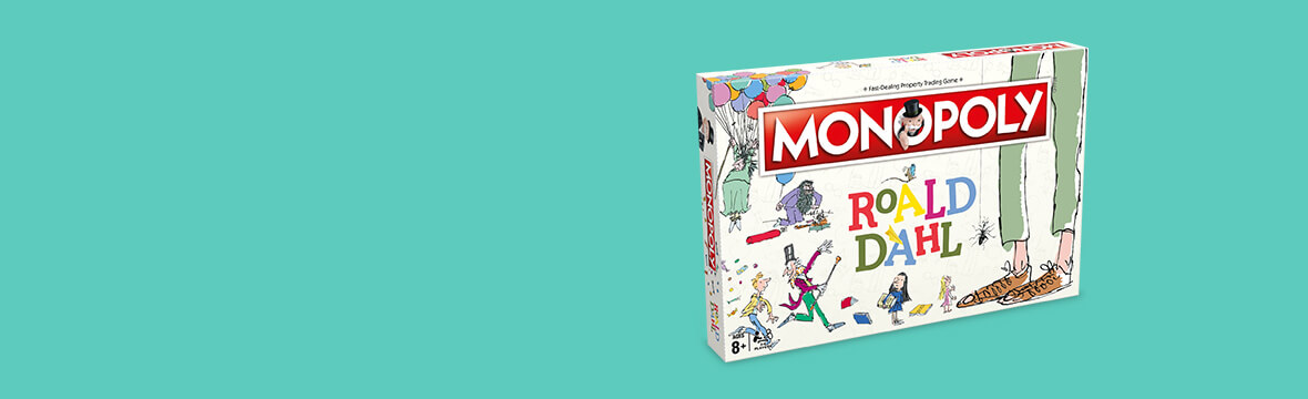 New In <br> Roald Dahl Monopoly