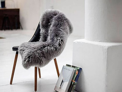 2 For £55 Medium Sheepskin Rugs