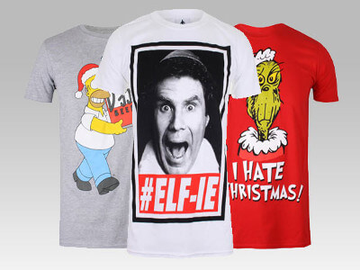 2 For £18 Christmas T-shirts