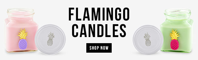 New In Flamingo Candles