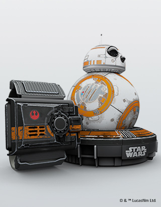Special Edition Battle-Worn BB-8 and Force Band