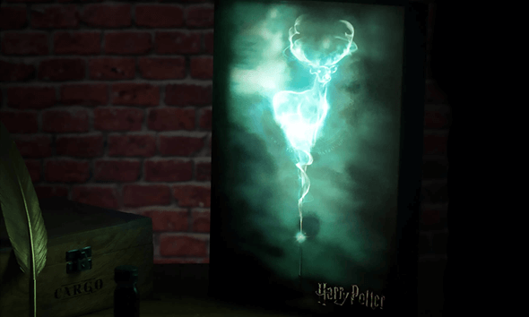 Harry Potter Luminart Only £9.99