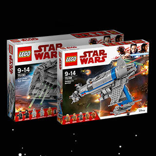 New in Star Wars LEGO
