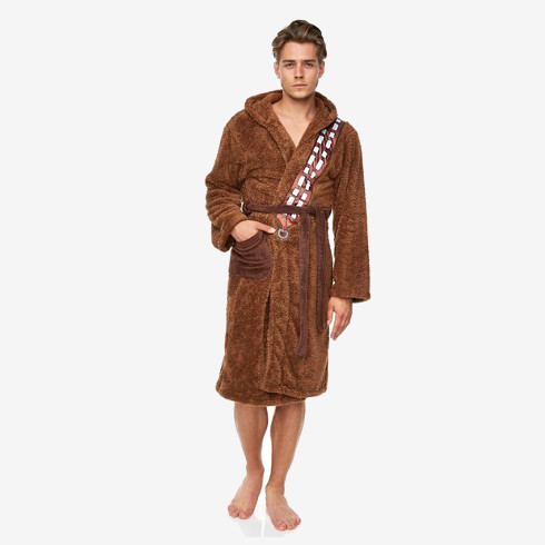 Father's Day Gifts for Geeky Dads - Chewbacca Star Wars Fleece Robe