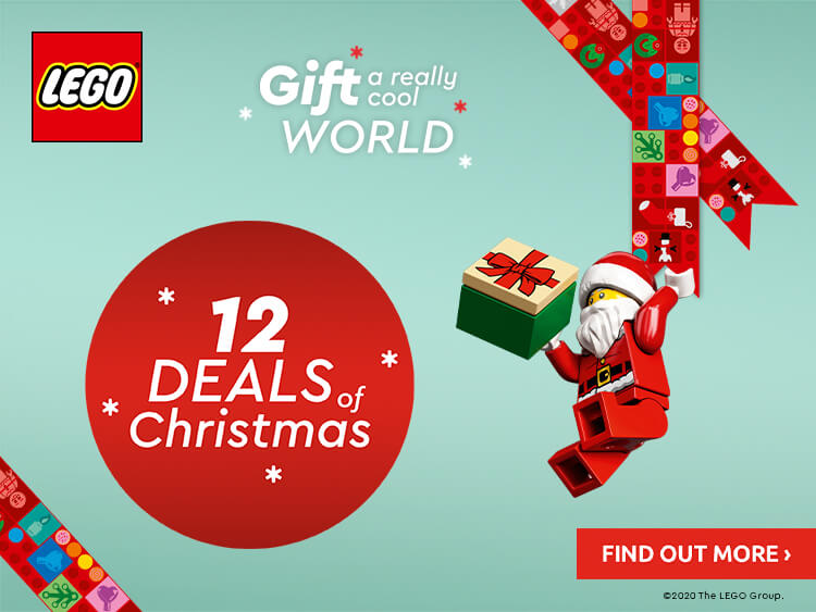 LEGO 12 DAYS OF CHRISTMAS OFFERS