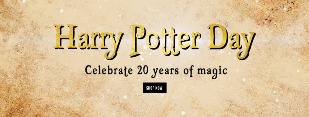 Harry Potter Gifts. Celebrate 20 years of Magic.
