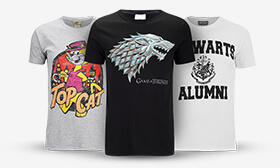 2 for £18 Geek T-Shirts