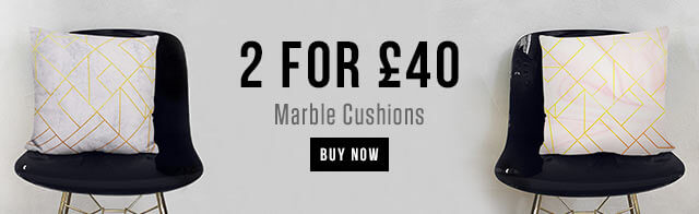 2 for £40 Marble Cushions
