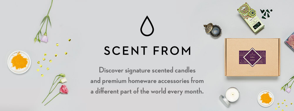 Scent From - A candle subscription box