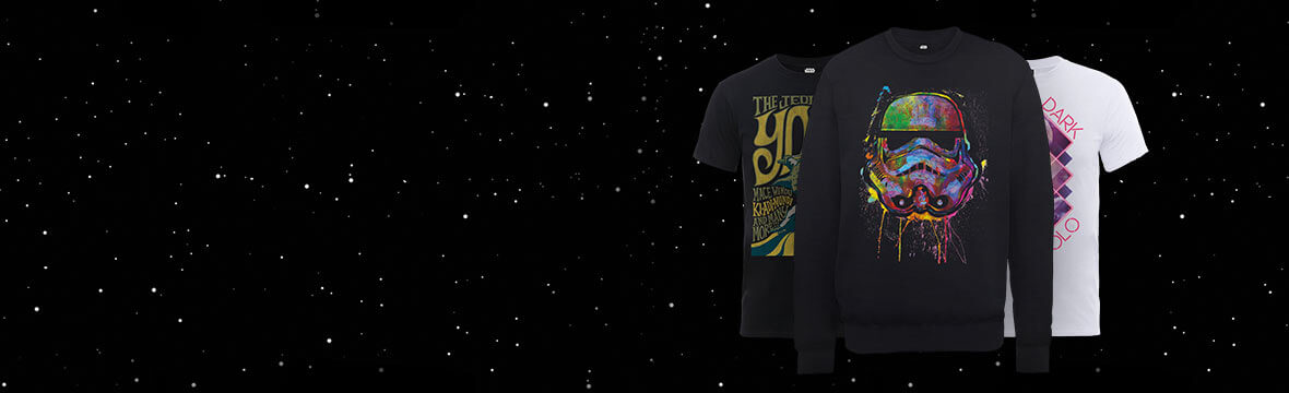 New In Star Wars <br>Clothing T-Shirts & Hoodies