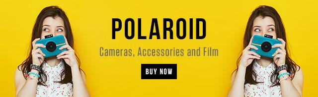 Polaroid - Cameras, Accessories and Film