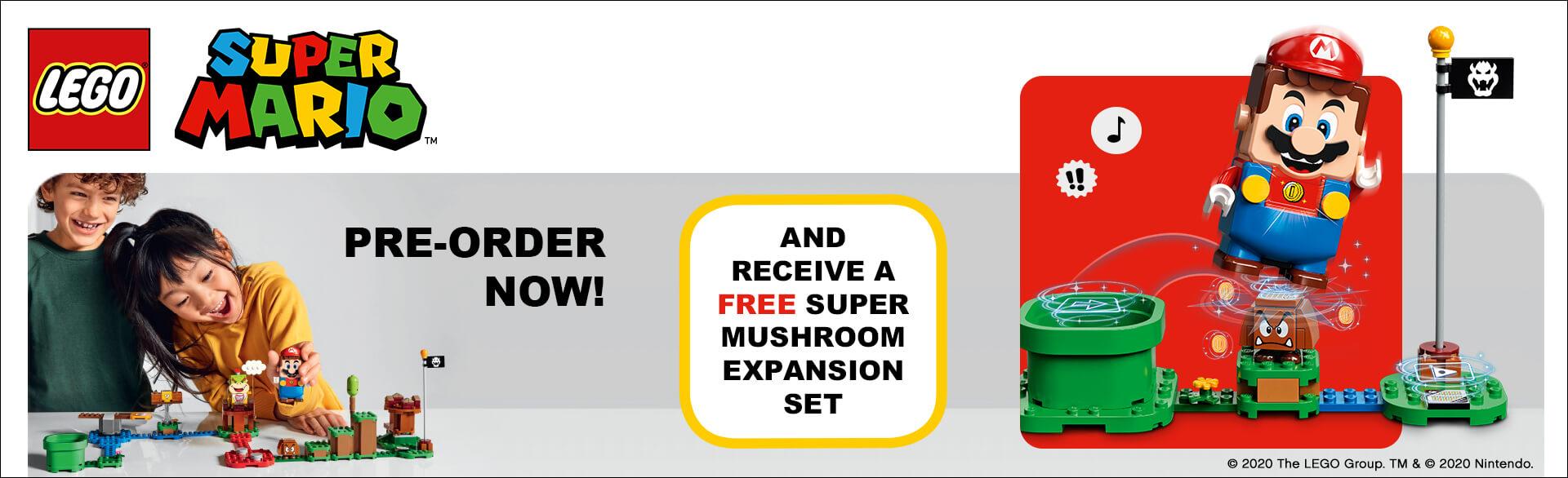 LEGO x Super Mario Pre - Order