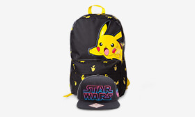 15% off Geeky Snapbacks and Backpacks