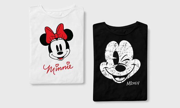 Disney T-Shirts 2 For £25