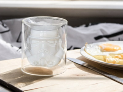 2 For £15 Stormtrooper Glass Tumblers