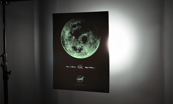 IWOOT Exclusive<br>Glow in the Dark Art Print