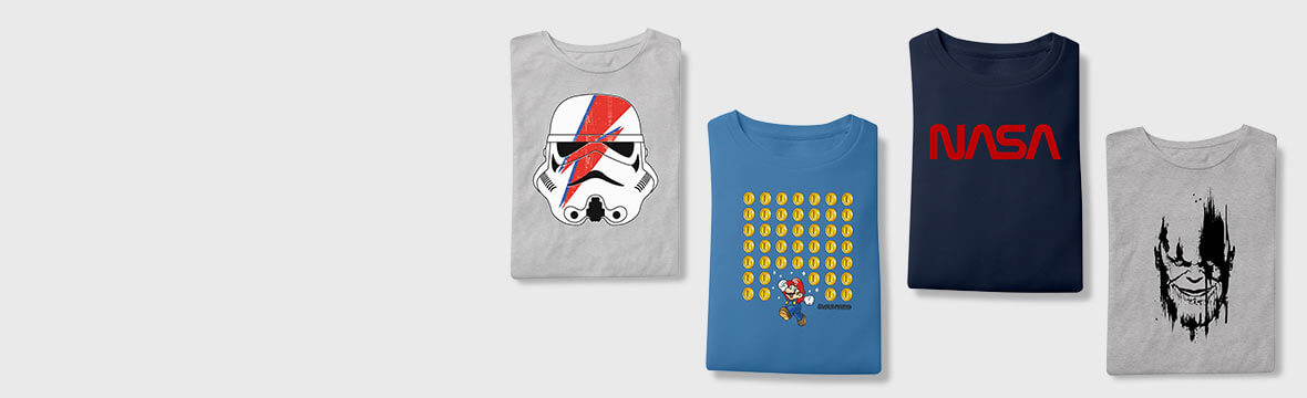 New In! <br> Officially Licensed Clothing