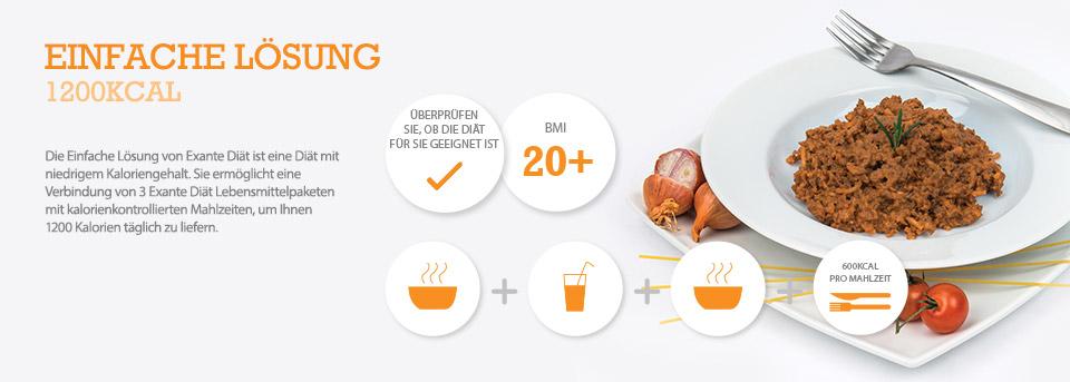 1200 Kalorien tägliche Protein-Diät