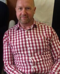 Steve Markham before
