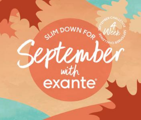 Slim Down for September with exante