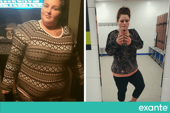 Amy Woods lost 9st 9lbs