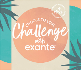 Choose to lose challenge with exante. '4 week summer challenge'.