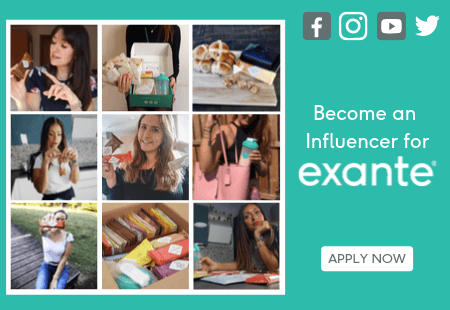 Become an Influencer for exante. 'Apply Now'