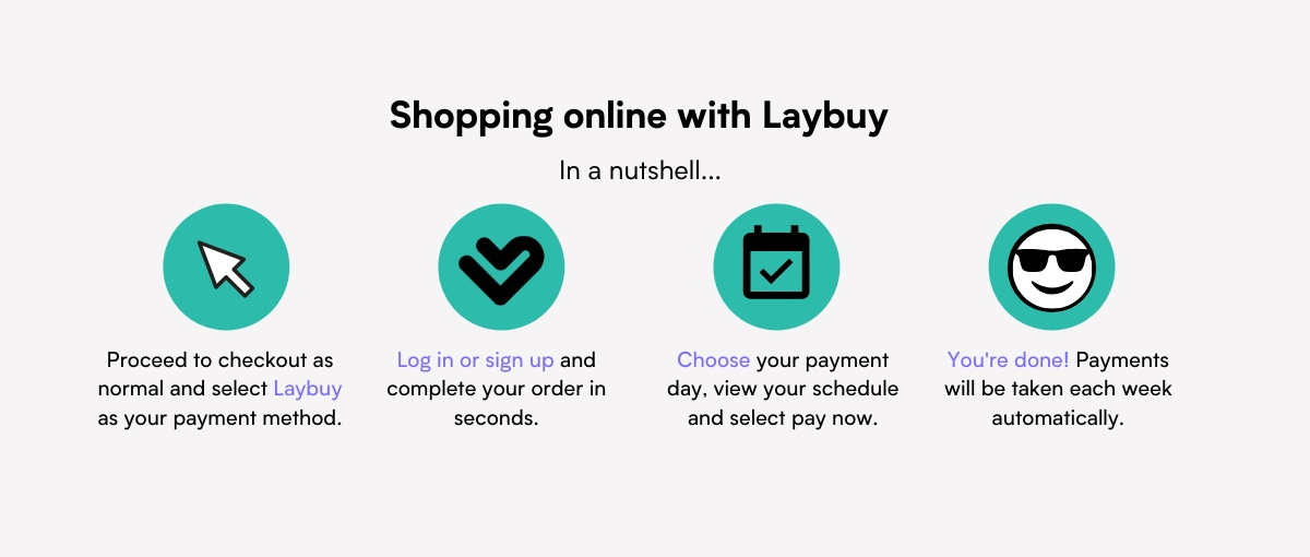 Laybuy payment icons