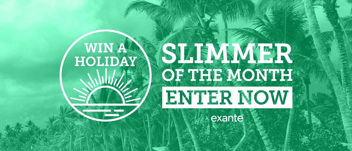 Exante Slimmer of the Month Competition