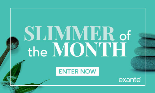 Become our Exante Slimmer of the Year 2018!