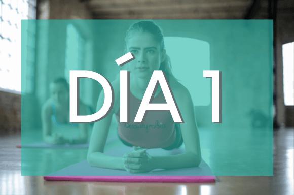 Día 1 (Semanas 7 y 8) del Plan de Entrenamiento Exante