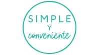 Simple & conveniente