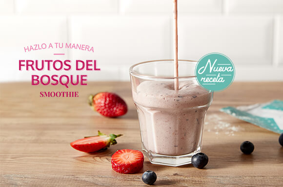 Smoothie de Frutos del Bosque