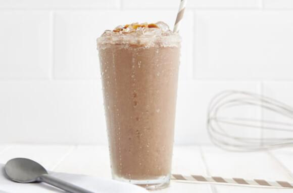 Batido de Café con Leche y Caramelo
