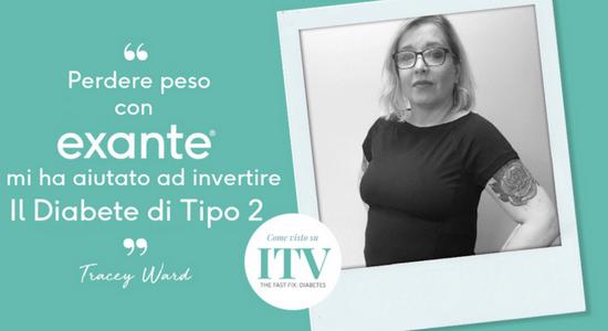 Tracey Diabete Tipo 2 Exante Diet Italia