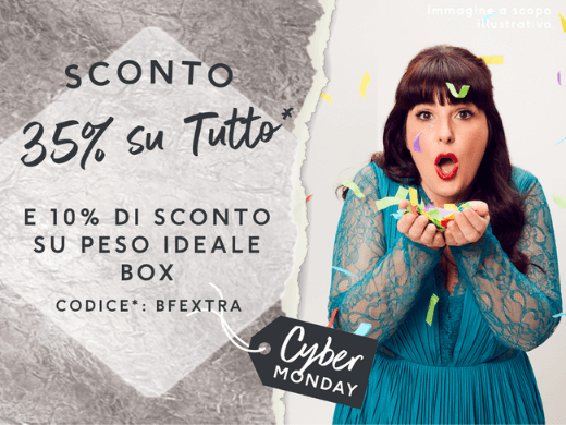 Risparmia il 35% sui tuoi prodotti preferiti exante e il 10% sulle Peso Ideale Box inserendo il codice* BFEXTRA