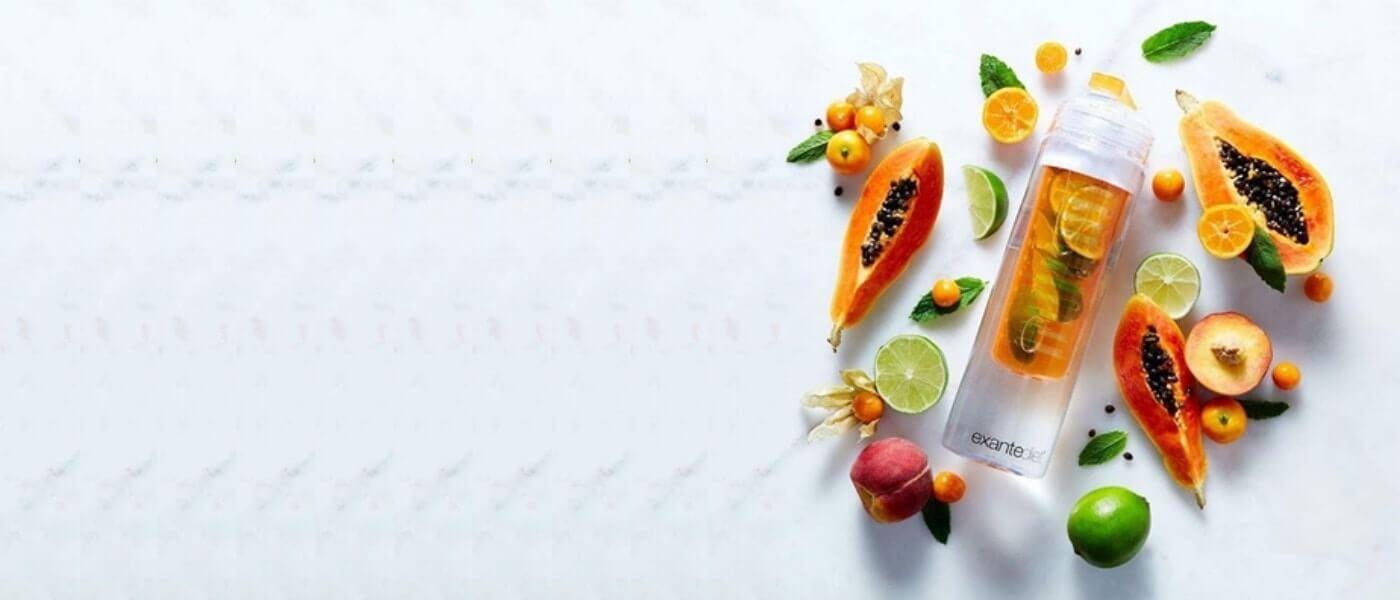 Spendendo 50€ sul nostro sito ricevi in omaggio l'utilissima e trendy bottiglia ad infusione di frutta. <br> <br> Usa il codice <b>BOTTIGLIA</b> e scopri il piacere di idratarsi con gusto! <br> <br> <br> Semplicemente seleziona i tuoi prodotti preferiti per un totale di almeno 50€, vai al carrello ed inserisci il codice <b>BOTTIGLIA</b>. Riceverai la bottiglia gratuitamente insieme ai tupi prodotti.