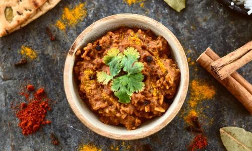 Curry Indiano con Riso