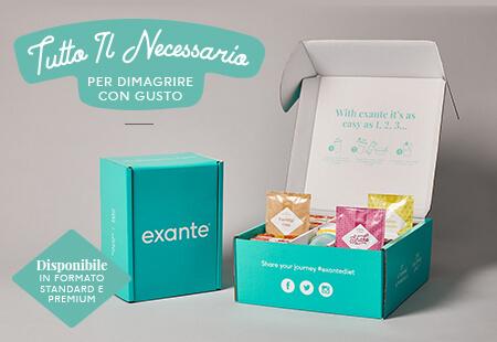 Seleziona la tua<br>Peso Ideale Box Exante