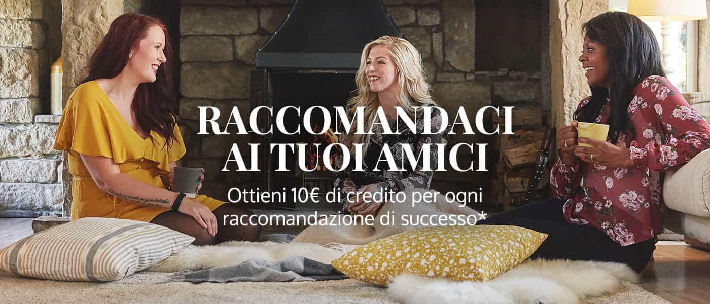 Raccomanda Exante Italia agli amici