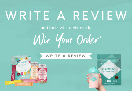 Write a Review and be in with a chance to Win your Order! Up to $50 credit.