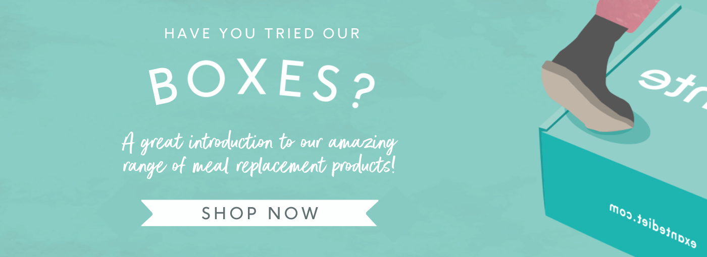 Have you tried our Boxes? A great introduction to our amazing range of meal replacement products! 'Shop Now'