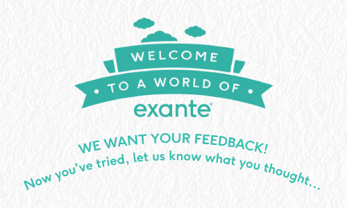 Welcome to exante