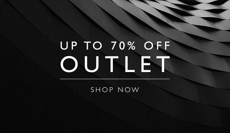 Up to 70% off OUTLET