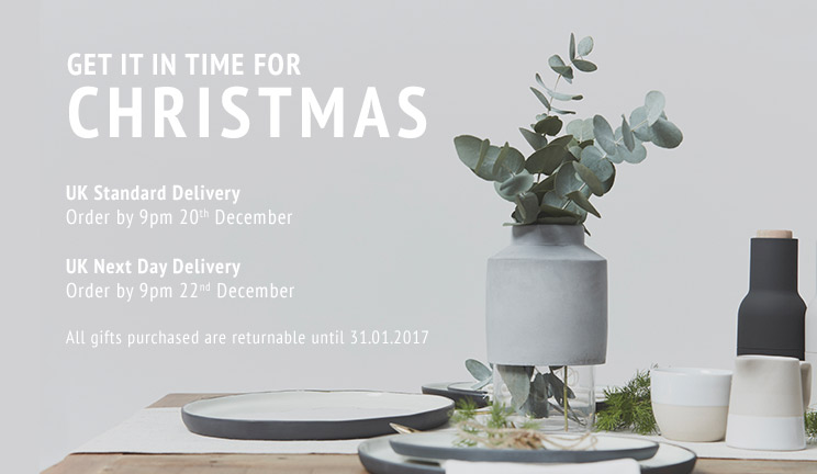 Christmas Delivery & Returns