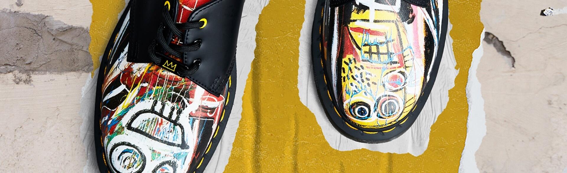 Dr Martens X Basquiat